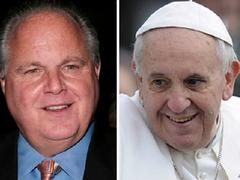 Leftist Catholics Launch Petition Demanding Limbaugh Apologize to Pope