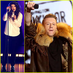 Lorde & Macklemore: Grammy Nominations Concert Performers!
